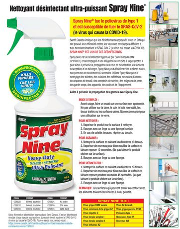 Spray Nine Heavy Duty Biodegradable Cleaner - image 3 of 4