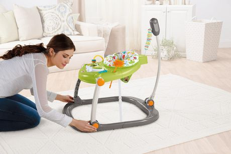 Fisher-Price Woodland Friends Space Saver Jumperoo - image 3 of 9