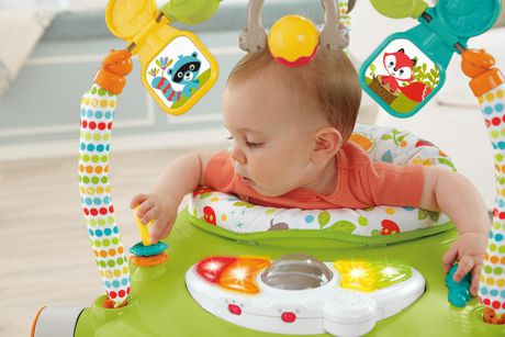 Fisher-Price Woodland Friends Space Saver Jumperoo - image 5 of 9
