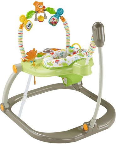 Fisher-Price Woodland Friends Space Saver Jumperoo - image 8 of 9