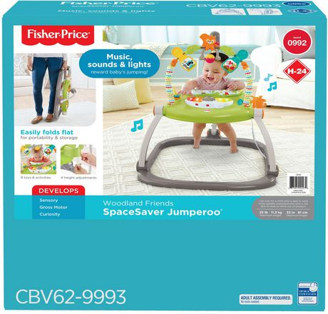 Fisher-Price Woodland Friends Space Saver Jumperoo - image 9 of 9