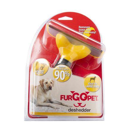 Furgo Deshedder Brush/Comb for Large Dogs - image 1 of 6