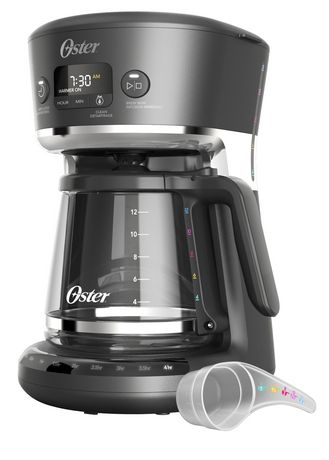 Oster® Easy Measure 12-Cup Programmable Coffee Maker, Black - image 1 of 3