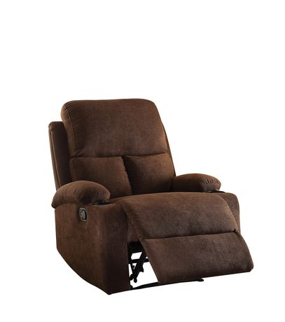 ACME Rosia Recliner in Chocolate Velvet - image 2 of 2