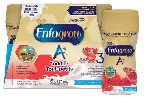 Enfagrow A+ Milk Flavour Ready to Drink Nutritional Supplement - image 2 of 5