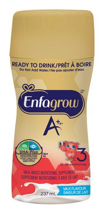 Enfagrow A+ Milk Flavour Ready to Drink Nutritional Supplement - image 3 of 5