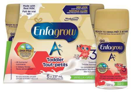 Enfagrow A+ Vanilla Flavour Ready to Drink Nutritional Supplement - image 2 of 5