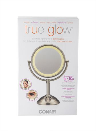 Conair Soft Halo Lighting Mirror For A Gentle Glow