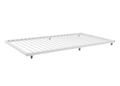 premium selection cac5c 07079 Twin Roll-Out Trundle Bed Frame - White | Walmart Canada
