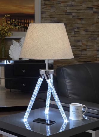 ACME Cici Table Lamp in Chrome - image 2 of 2