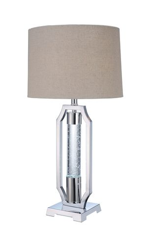 ACME Cici Table Lamp in Chrome - image 1 of 4
