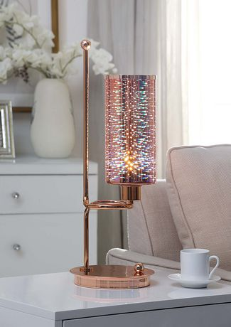 ACME Gwen Table Lamp in Rose Gold - image 2 of 4