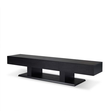 ACME Follian TV Stand in Black - image 2 of 3