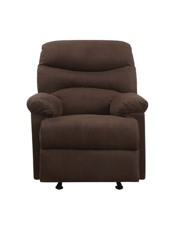 ACME Arcadia Glider Recliner in Chocolate MFB - image 2 of 3