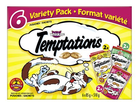 Temptations Variety Pack Treats for Cats - image 1 of 2