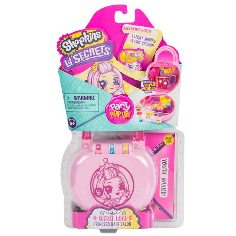 Shopkins Lil Secrets Mini Playset - Party Pop Ups Series 2 - image 1 of 6