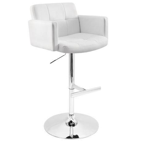 tabouret de bar contemporain stout de lumisource walmart. Black Bedroom Furniture Sets. Home Design Ideas