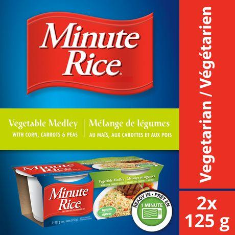 Mélange de légumes et riz en coupe Minute Rice® , 250 g - image 1 de 7