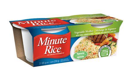 Mélange de légumes et riz en coupe Minute Rice® , 250 g - image 2 de 7