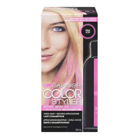 garnier color styler intense coloration partant au shampoing walmartca - Shampoing Colorant Garnier