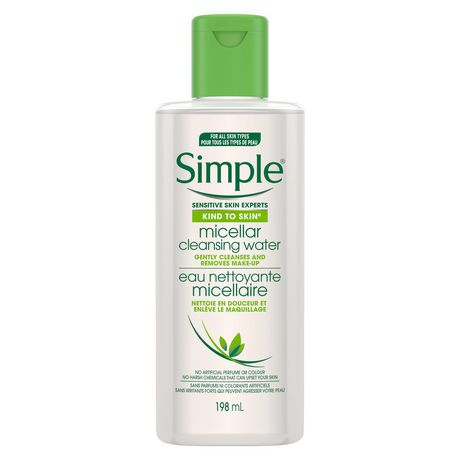 Simple Kind to Skin Facial Wipes For All Skin Types Micellar effectively removing dirt, make-up and impurities 25 count - image 1 of 8