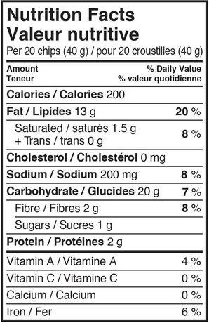 Sensible Portions Sea Salt Gluten Free Garden Veggie Chips - image 3 of 3