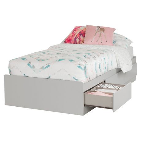 South Shore Vito Twin Storage Bed 39 Quot With 3 Drawers