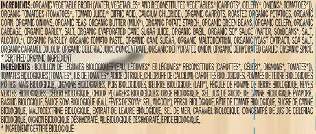 Soupe biologique consistante aux légumes de jardin de Wolfgang Puck - image 2 de 3