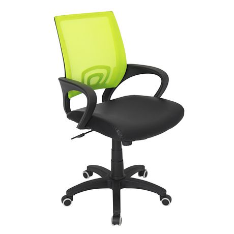 Remarkable Lumisource Officer Lime Green Office Chair Uwap Interior Chair Design Uwaporg