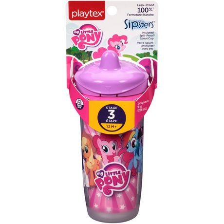 Playtex Baby My Little Pony Kids Sipsters Spill-Proof Spout Cup - image 2 of 2