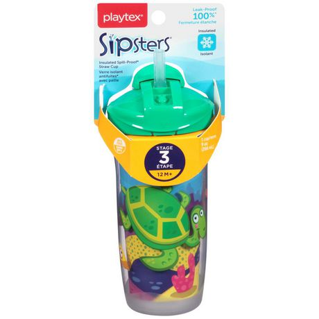 Playtex Baby Sipsters Insulated Spill-Proof Kids Straw Cup - image 1 of 2