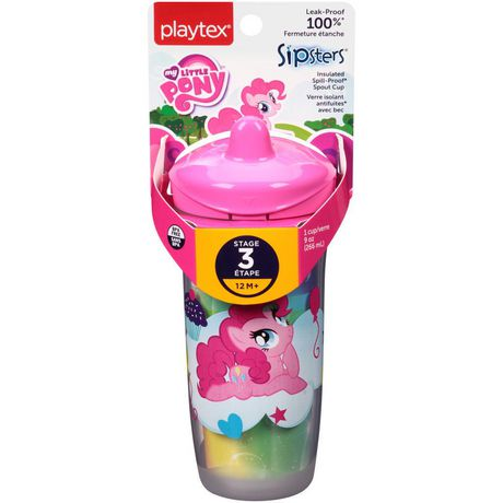 Playtex Baby My Little Pony Kids Sipsters Spill-Proof Spout Cup - image 1 of 2