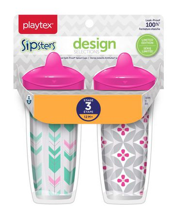 Playtex Baby Sipsters Spill-Proof Design Selections Kids Spout Cups - image 2 of 2