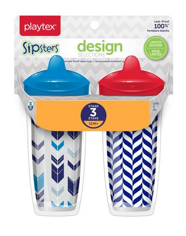 Playtex Baby Sipsters Spill-Proof Design Selections Kids Spout Cups - image 1 of 2