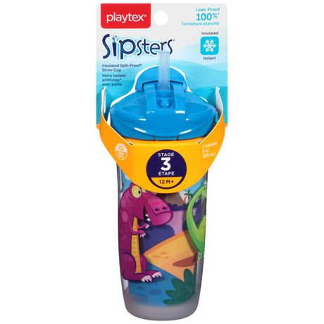 Playtex Baby Sipsters Insulated Spill-Proof Kids Straw Cup - image 2 of 2