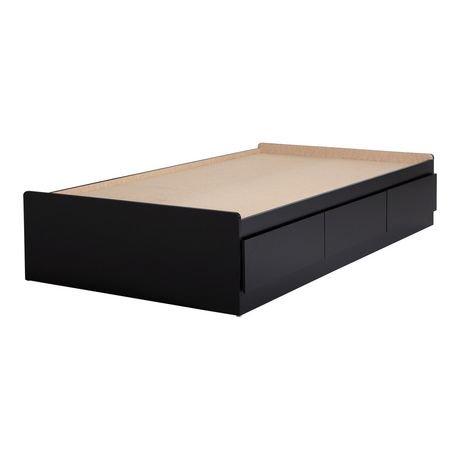 Lit matelot avec 3 tiroirs collection vito de meubles south shore simple 39 - Lit simple avec tiroir ...