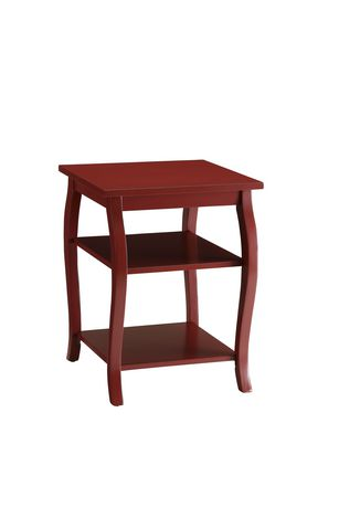 ACME Becci End Table in Red - image 2 of 3