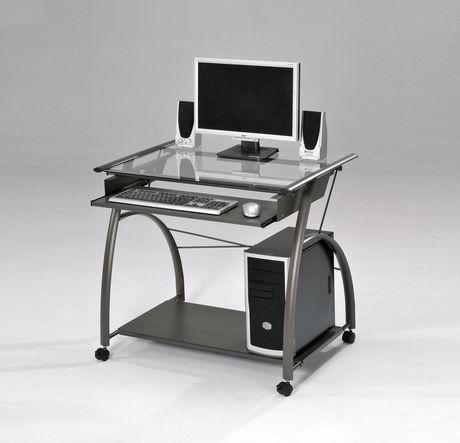 Bureau d'ordinateur Vincent d'ACME, étain - image 1 de 1
