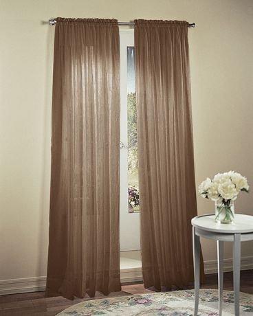 rideaux p le sup rieur no 918 en voile cras walmart canada. Black Bedroom Furniture Sets. Home Design Ideas