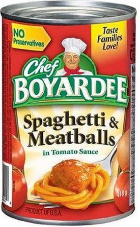 Chef Boyardee® Spaghetti And Meatballs in Tomato Sauce - image 1 of 2