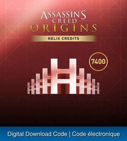 PS4 ASSASSINS CREED ORIGINS: ACE - HELIX CREDITS EXTRA LARGE ADD-ON (Digital Download) - image 1 of 1