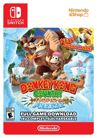 Switch Donkey Kong Country: Tropical Freeze [Download] - image 1 of 9
