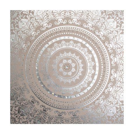 Graham & Brown 'Cocon embelli' art mural en tissu - image 1 de 4