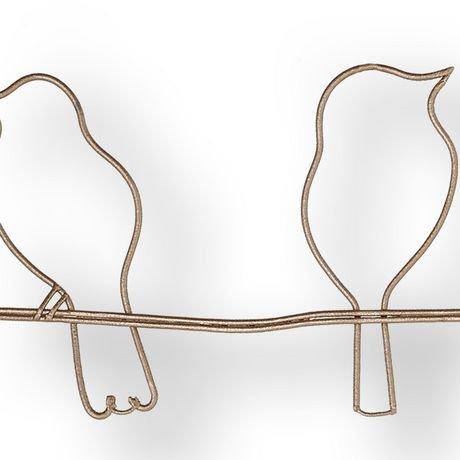 Fantastic Graham & Brown 'rose Gold Bird on A Wire' Metal Wall Art | Walmart  JX63