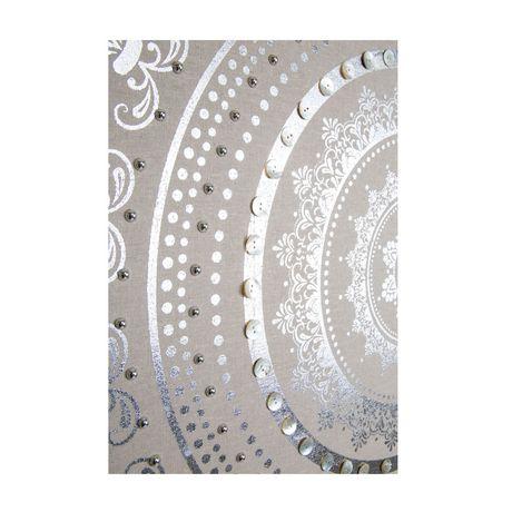 Graham & Brown 'Cocon embelli' art mural en tissu - image 4 de 4