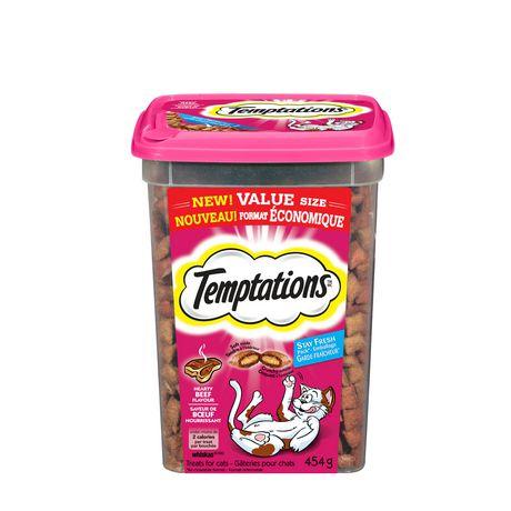 TEMPTATIONS® Hearty Beef Flavour CAT Treats - image 1 of 9