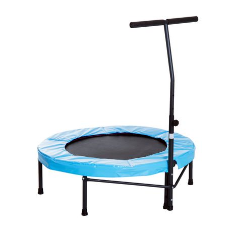 Soozier Mini Trampoline d'Exercice avec Barre Ajustable - image 1 de 1