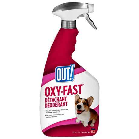 OUT! Oxy-Fast Stain & Odor Remover - 945 ml - image 2 of 2