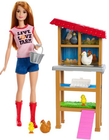 Barbie Chicken Farmer Doll & Playset - image 3 of 9