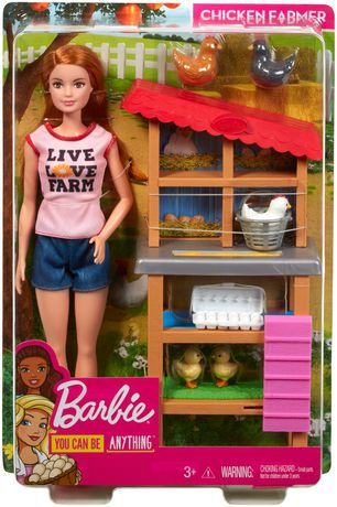 Barbie Chicken Farmer Doll & Playset - image 9 of 9